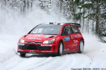 Citroen C4 WRC Sebastian Leob. Swedish Rally 2007 (b)